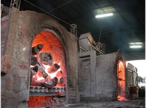 horno tradicional de yerbatera en Misiones, Argentina